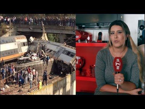 شاهدالبطلة المغربية هند أبا تراب  تتضامن مع عائلات ضحايا قطار بوقنادل