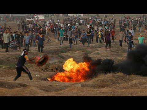 إصابة 130 فلسطينيًا برصاص الاحتلال الإسرائيلي في قطاع غزة