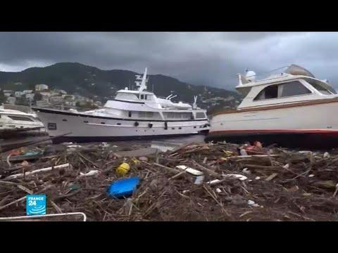 عاصفة ثلجية قوية تضرب أوروبا وتأثيرها على الموانئ والمنازل
