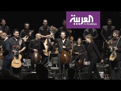 شاهد الموسيقى العربية تُعزف للمرة الأولى في دار أوبرا برشلونة