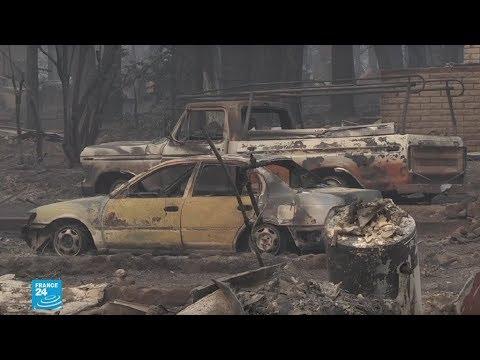 حرائق كاليفورنيا الأكثر تدميرًا في تاريخ الولايات المتحدة الأميركية
