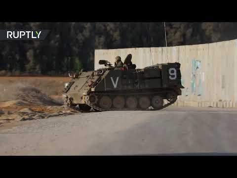 تحرُّكات الدبابات الإسرائيلىية على حدود غزة