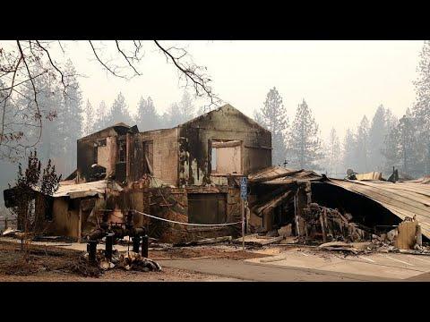 تشرُّد أكثر من 300 ألف شخص في أميركا بسبب حرائق كاليفورنيا