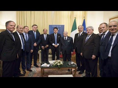 الطرفان المُتنافسان في ليبيا يجتمعان لأول مرة منذ 5 أشهر