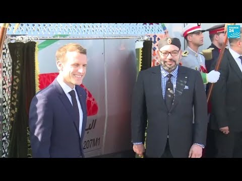 لحظة إطلاق البراق المغربي أول قطار فائق السرعة في أفريقيا