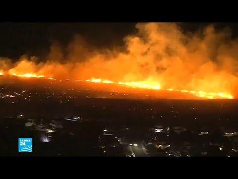 سقوط عشرات القتلى ومئات الجرحى في حرائق كاليفورنيا