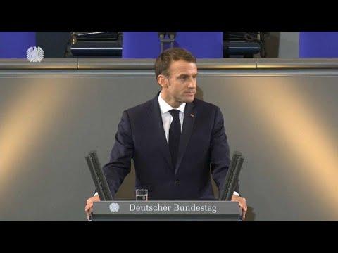 الرئيس ماكرون يُشدّد على دور التحالف الفرنسي الألماني في تعزيز الوحدة الأوروبية
