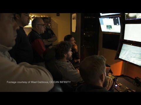 شاهد لحظة العثور على الغواصة الأرجنتينية المفقودة