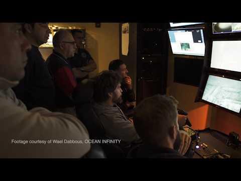 شاهد لحظة العثور على الغواصة الأرجنتينية  سان خوان