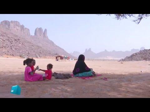 شاهد دور المرأة في مجتمع الطوارق في الجزائر