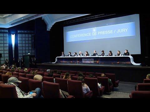 شاهد ندوة صحافية مع لجنة تحكيم المهرجان الدولي للفيلم في مراكش