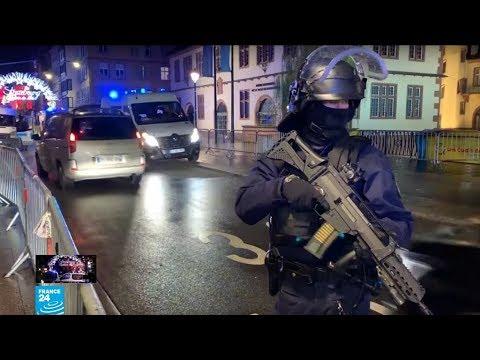 شاهد اللحظات الأولى لهجوم ستراسبورغ الدامي في فرنسا