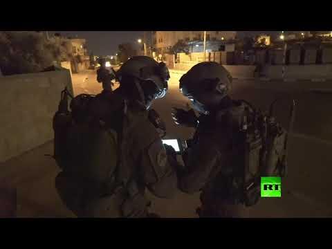 شاهد جيش الاحتلال يقتحم المدن الفلسطينية للقبض على مطلوبين