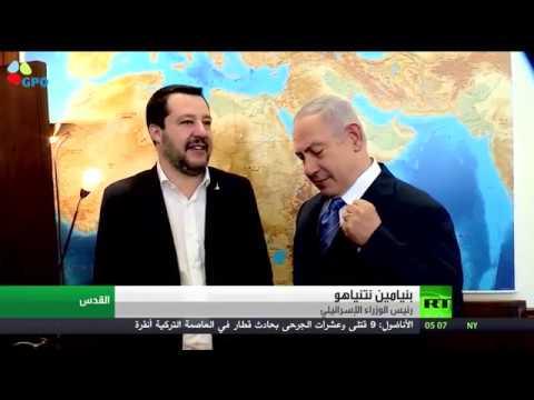 شاهد نتنياهو يدعو إلى التعامل مع حزب الله بصرامة