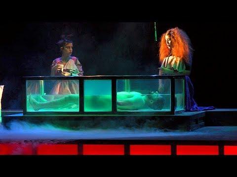 شاهد مسرحية إيتسوض عاوذ تجسيد لتيمة الوجود بصيغة المؤنث