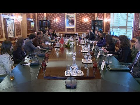 وفد عن المجلس الأميركي للقادة السياسيين الشباب يزور مجلس المستشارين