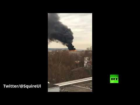 انفجار أسطوانات غاز في جامعة ليون الفرنسية