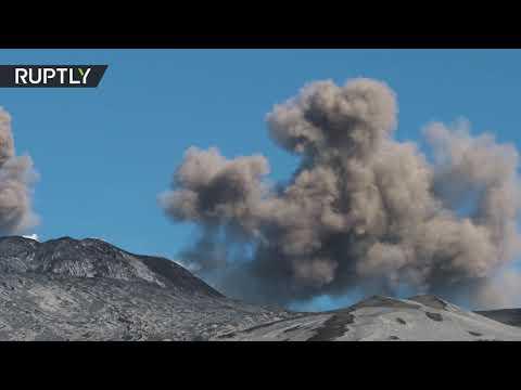 شاهدثوران بركان إتناالأكثر نشاطًا في أوروبا