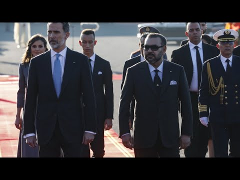 ملك إسبانيا يصل إلى المغرب في زيارة رسمية لمدة يومين