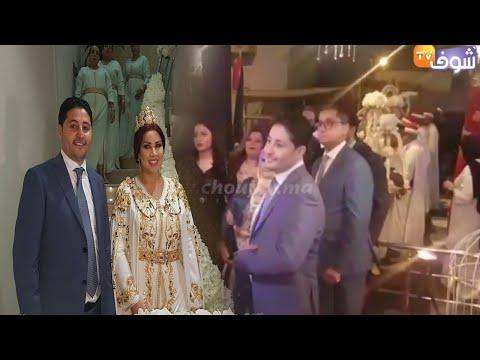 شاهد اللقطات الأولى من حفلة خطوبة سعيدة شرف