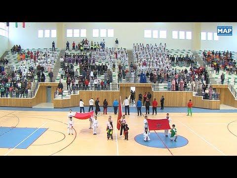 القاعة المُغطاة تعزّز البنية التحتية الرياضية في بالفقيه بن صالح