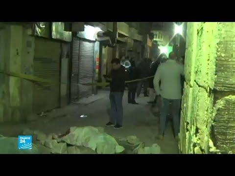 شاهد مقتل 3 شرطيين ومتطرف في القاهر