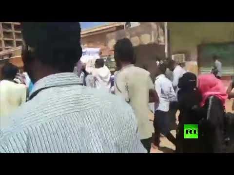 شاهد تجدد الاحتجاجات في الخرطوم العاصمة السودانية
