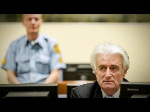 شاهد الجنايات الدولية تحكم بالسجن مدى الحياة على الصربي كاراديتش