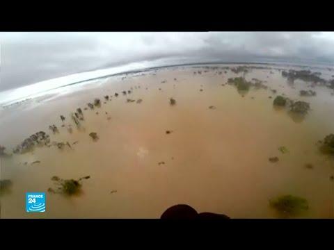 شاهد إعصار إيداي عندما تحوّل الأمطار الطوفانية مدنًا إلى بحار
