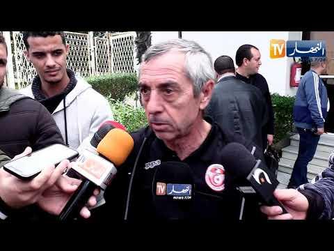 شاهد المدرب جيراس يعلق على احتجاجات الجزائرين ضد بوتفليقة