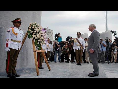 شاهد ولي عهد بريطانيا في زيارة تاريخية لكوبا لتوطيد العلاقات الثنائية
