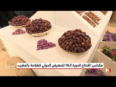 شاهد افتتاح الدورة الـ14 للمعرض الدولي للفلاحة في المغرب