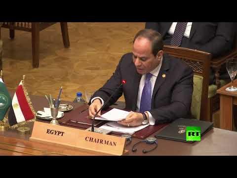 شاهد الرئيس السيسي يُؤكّد ضرورة تكاتف الجميع لدعم الخرطوم