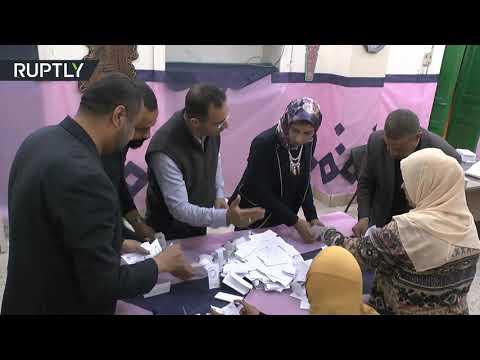 شاهد إغلاق صناديق الاقتراع وبدء فرز الأصوات في استفتاء تعديلات دستور مصر