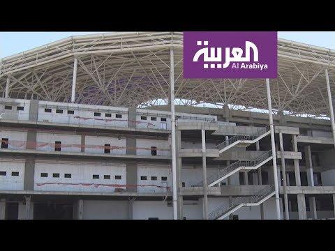 شاهد بغداد تحتضن ملعب صديق للبيئة يعمل بنظام الطاقة الشمسية