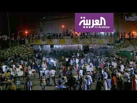 شاهد معتصمو السودان يهللون فرحًا بمهلة المجلس العسكري