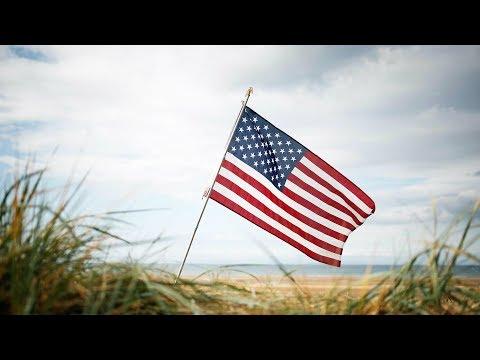 شاهد ترامب وماكرون في احتفالات الذكرى الـ75 ليوم إنزال نورماندي