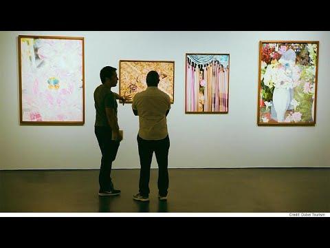 آرت دبي مكان لتلاقي فنون الغرب والشرق