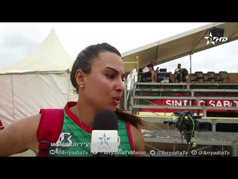 شاهد إيمان زروال تكشف سر تأهُّل المنتخب المغربي لـالطائرة الشاطئية