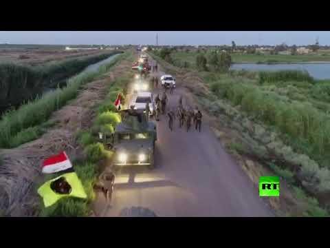 القوات الأمنية والحشد الشعبي تطهّران 12 قرية شمالي بغداد