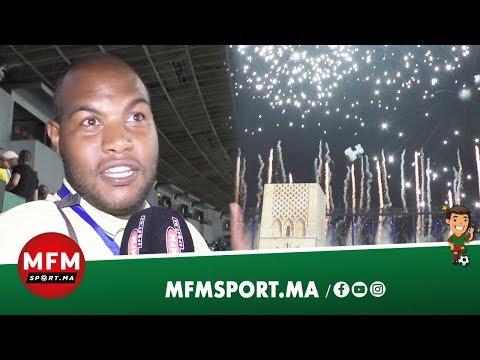 شاهد انبهار صحافي تونسي بحفلة افتتاح الألعاب الأفريقية في الرباط