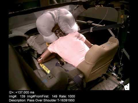 شاهدشركة هوندا تستحدث تقنية جديدة لـالوسائد الهوائية لحماية الركاب في حالة حدوث تصادم