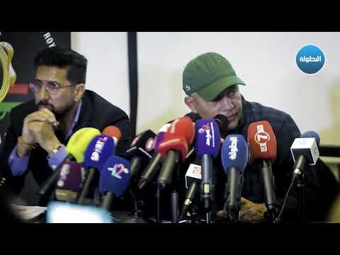 شاهد عبدالرحيم طاليب سعيد بتدريب زعيم الكرة المغربية