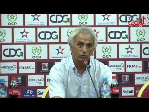 شاهد خاليلوزيتش يُشيد بالتزام لاعبي المنتخب المغربي طيلة المعسكر
