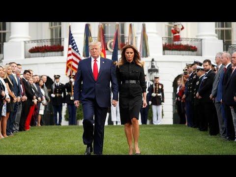 تاج ترامب يحيي ذكرى مقتل نحو 3 آلاف شخص في هجمات 11 أيلول