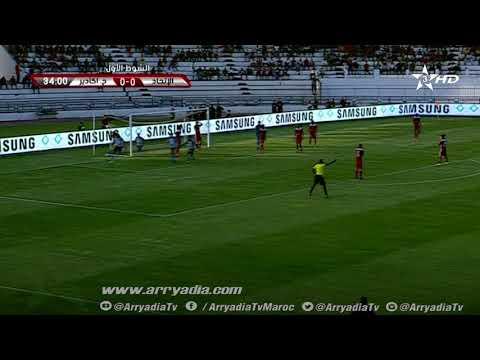 شاهد حسنية أغادير يربك حسابات الاتحاد الليبي في كأس الكاف