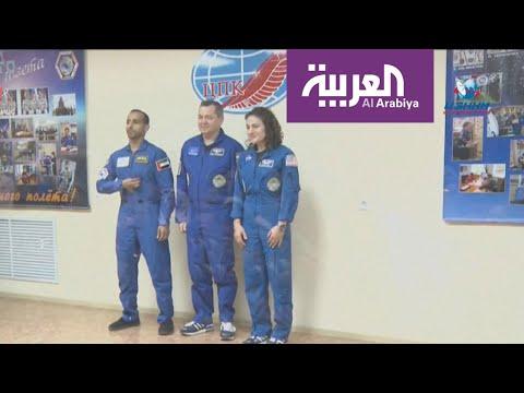 أول رائد فضاء إماراتي يصل إلى المحطة الدولية