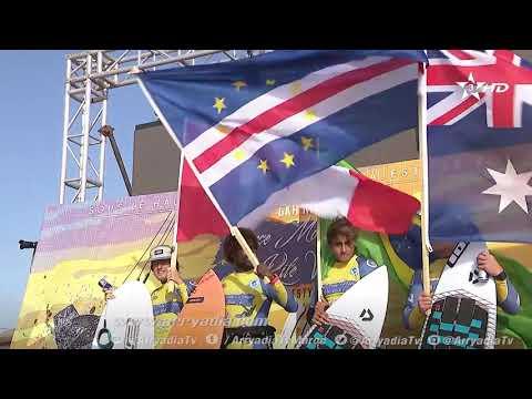 شاهد الأمير مولاي الحسن في الكيت سورف خلال اليوم 6 من بطولة العالم