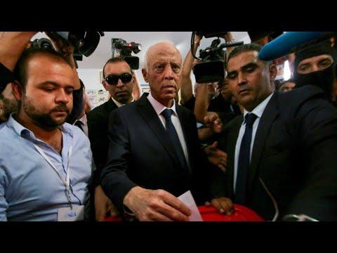 شاهد الأجواء في تونس بعد إعلان فوز قيس سعيّد في الانتخابات الرئاسية