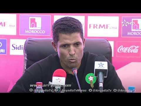 شاهد عموتة يتمنى تقديم المستوى المطلوب أمام المنتخب المحلي الجزائري